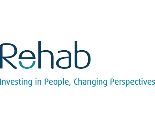 Rehab Group logo client 2into3