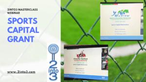 Sports Capital Grant Webinars