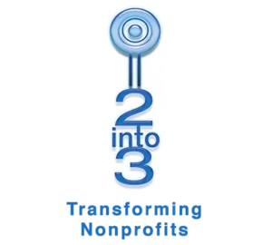 2into3 logo Transforming Nonprofits