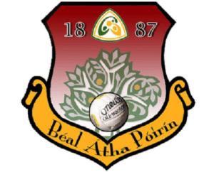 Ballyporeen GAA logo sports capital grant application 2into3