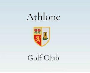 Athlone Golf Club Logo 2into3 client Sports Capital Grant