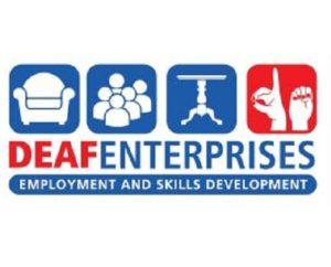 Deaf Entreprises logo client 2into3